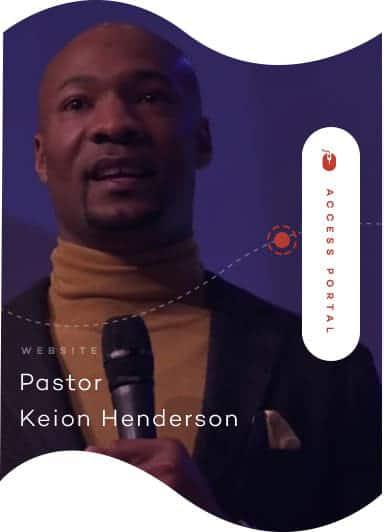 Pastor Keion Henderson